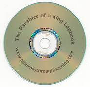The Parables of a King Lapbook CD-Rom   -