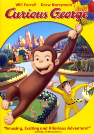 Curious George: The Movie, DVD   -