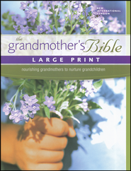NIV Grandmother's Bible, Largeprint, Hardcover  1984  -