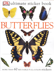 Ultimate Sticker Book: Butterflies  -