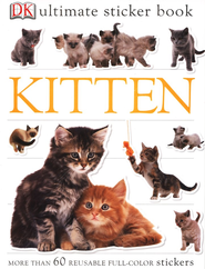 Ultimate Sticker Book: Kitten  -