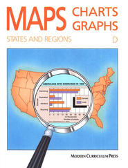 MAPS, CHARTS AND GRAPHS, LEVEL D, STATES AND REGIONS Pearson Education
