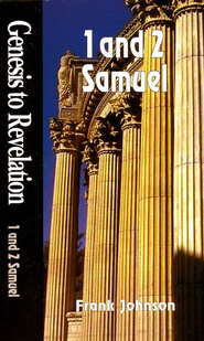 1 & 2 Samuel, Genesis to Revelation Studies   -     By: Frank Johnson