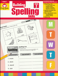 Building Spelling Skills, Grade 2   -     By: Homeschool
