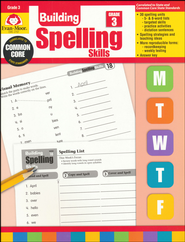 Building Spelling Skills, Grade 3   -     By: Homeschool