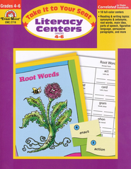 Language Arts Centers, Grades 4-6   -     By: Homeschool