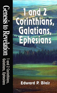 1 & 2 Corinthians, Galatians, Ephesians, Genesis to Revelation: NIV Bible Study  -              By: Edward Blair