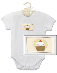 God's Blessings are Always Sweet Romper, 3-6 Months  -