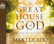 Great House of God        - Audiobook on CD  -     Narrated By: Alan Scott     By: Max Lucado