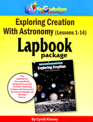 Exploring Creation with Astronomy Lapbook Package (Lessons 1-14)  -
