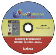 Apologia Exploring Creation with General Science 1st Edition Lapbook Journal CD  -