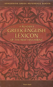 A Reader's Greek-English Lexicon of the New Testament  -     By: Sakae Kubo