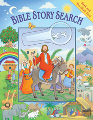 Seek and You Shall Find: Bible Story Search (with  Magnifying Glass)  -              By: Steve Cox
