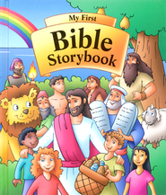 My First Bible Storybook  -     By: Michael Burghof