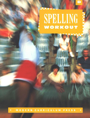 MCP Spelling Workout Level D (Gr. 4) Student Workbook   -
