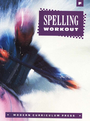 MCP Spelling Workout Level F (Gr. 6) Student Workbook   -