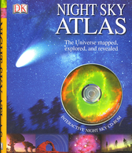 Night Sky Atlas With Cd-Rom  -