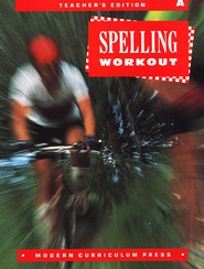 MCP Spelling Workout Level A (Gr. 1) Teacher's Edition   -