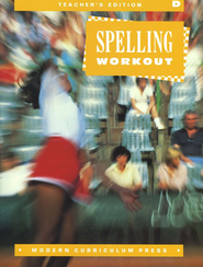 MCP Spelling Workout Level D (Gr. 4) Teacher's Edition   -