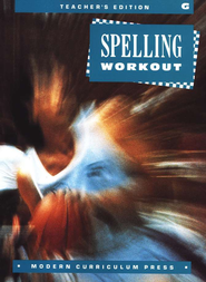 MCP Spelling Workout Level G (Gr. 7) Teacher's Edition   -