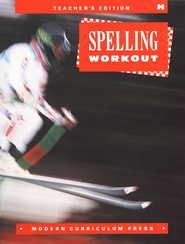 MCP Spelling Workout Level H (Gr. 8) Teacher's Edition  - Slightly Imperfect  -