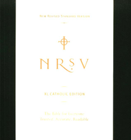 NRSV XL-Print Bible, Catholic Edition, softcover  - Slightly Imperfect  -