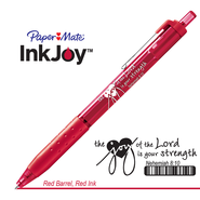 Behold the Joy of His Way Pen, Red  -