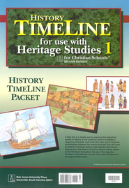 BJU Heritage Studies 1, Timeline Packet   -