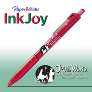Joy to the World Pen, Red  -