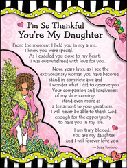 I'm So thankful You're My Daughter Magnet  -