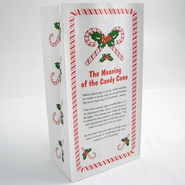 The Meaning of the Candy Cane Paper Bag, Pack of 12   -