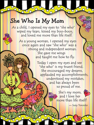 She Who Is My Mom Magnet  -