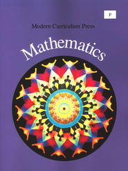 Modern Curriculum Press Math Student Book, Level F, Grade 6   -