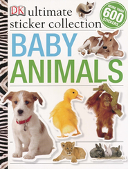 Baby Animals Ultimate Sticker Collection  -     By: DK Publishing
