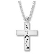 Women's Witness Cross Necklace  -