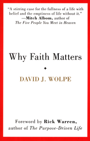Why Faith Matters  -              By: David J. Wolpe