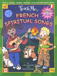 French Spiritual Songs CD   -