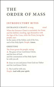 Order of Mass Hymnal Insert  -              By: Beverly Kienzle
