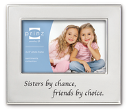 Sisters By Chance, Friends by Choice Photo Frame  -