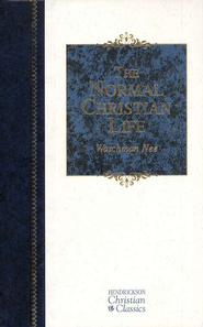 The Normal Christian Life -- Slightly Imperfect   -     By: Watchman Nee