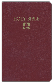 NRSV Award Bible, Imitation leather, burgundy   -