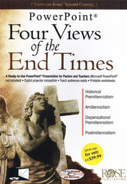 Four Views of the End Times: PowerPoint CD-ROM  -