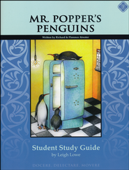 Mr. Popper's Penguins, Literature Guide 2nd Grade, Student Edition  -