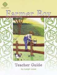 Farmer Boy, Literature Guide 3rd Grade, Teacher's Edition  -