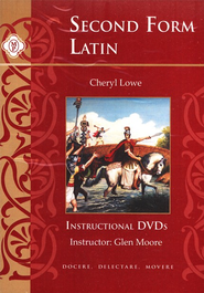 Second Form Latin, DVD's   -     By: Cheryl Lowe