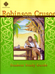 Robinson Crusoe, Literature Guide 7th Grade, Student Edition  -