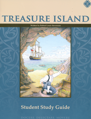 Treasure Island, Literature Guide 6th Grade, Student Edition  -