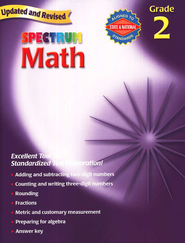 Spectrum Math, 2007 Edition, Grade 2   -