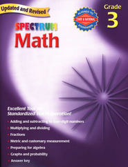 Spectrum Math, 2007 Edition, Grade 3   -