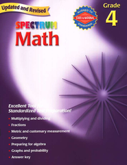 Spectrum Math, 2007 Edition, Grade 4   -